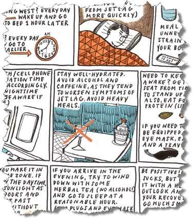 9 Tipps gegen Jetlag