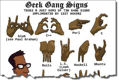GeekGangSigns