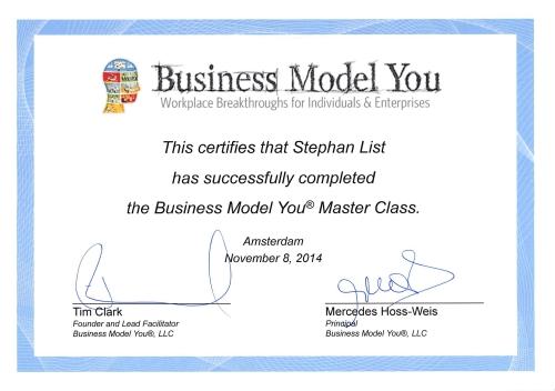 BMY Zertifikat